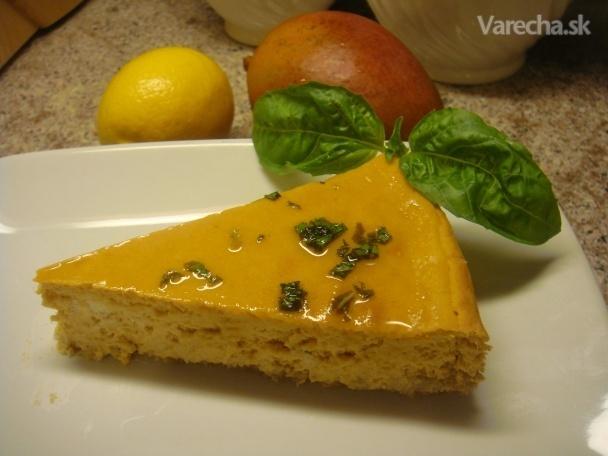 Cheesecake s mangom <em>fotorecept</em>
