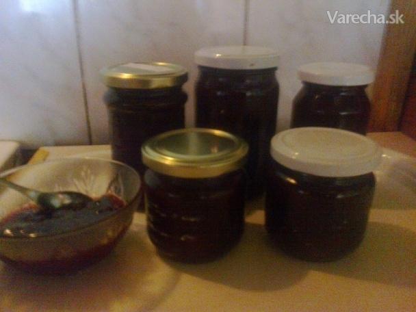 Ringlotový džem z troch druhov sliviek (fotorecept)