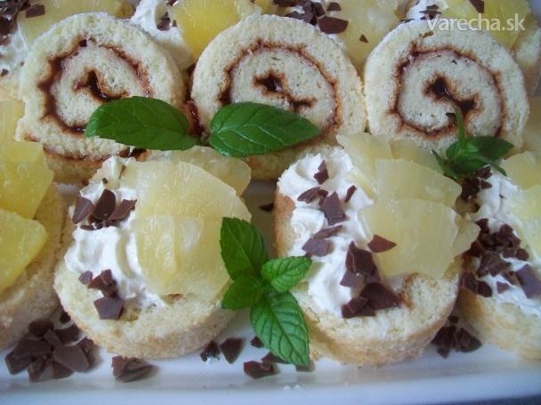 Ananásové chlebíčky (fotorecept)