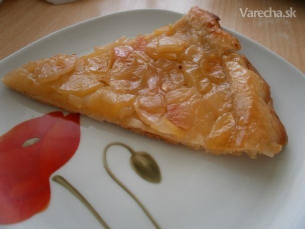 Jablkový obrátený koláč (tarte tatin)