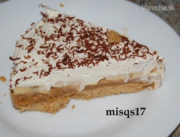 Banoffe Pie - Banánový nepečený koláč /fotorecept/