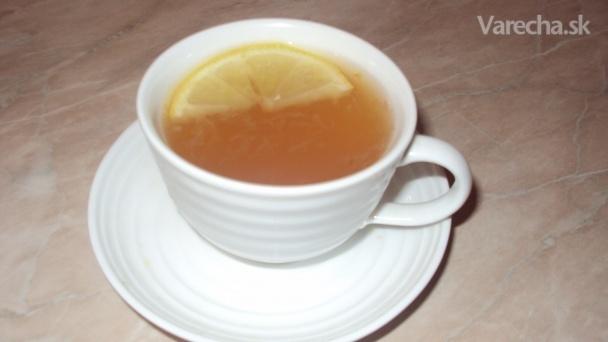 Limonáda proti kašľu (fotorecept)