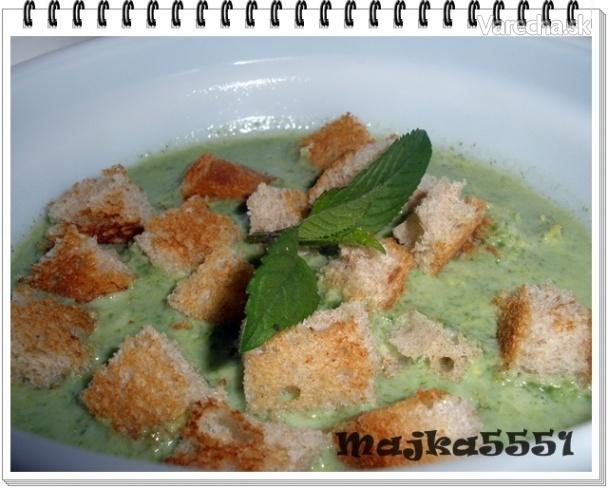 Špenátová polievka (fotorecept)