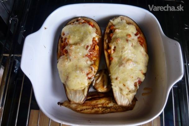 zapekaný baklažán s kuracím mäsom