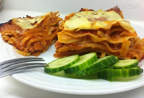Extra paradajkové lasagne