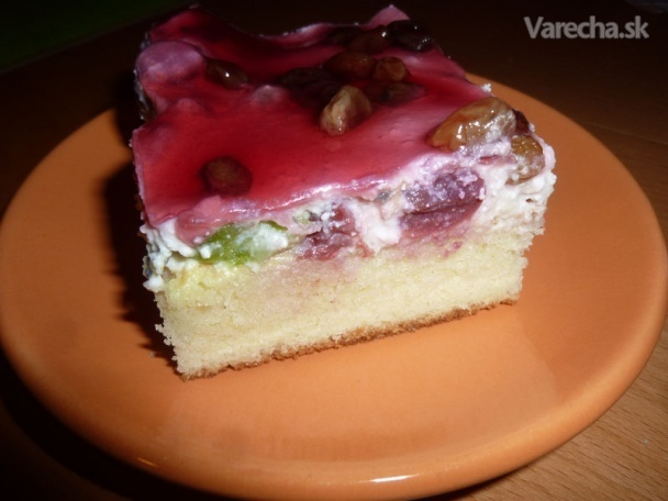 Tvarohovo-ovocný koláč