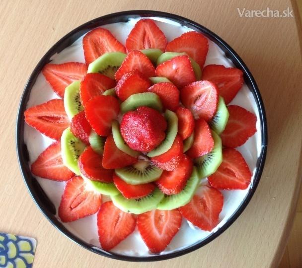 Ovocná smotanová torta (fotorecept)