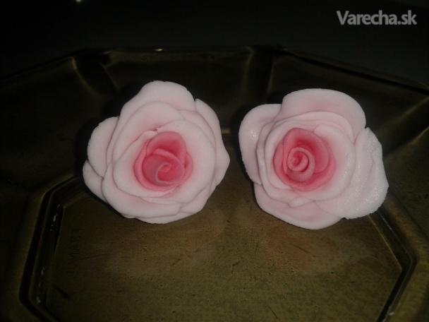 Marcipánové ružičky (fotorecept)