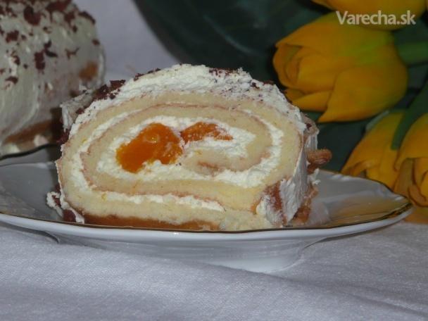Mandarínková roláda (fotorecept)