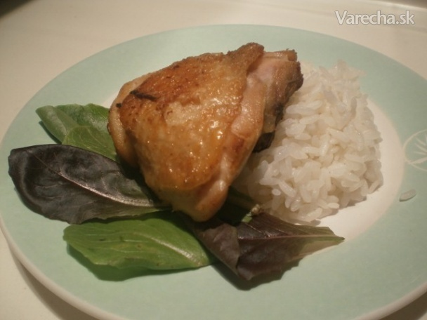 Chrumkavé indonézske kurča  alebo Ayam goreng Jawa (fotorecept)