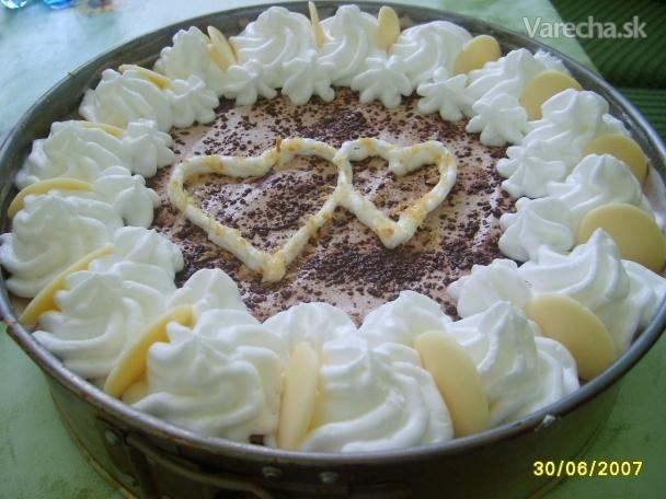 Nepečená smotanová torta s ovocím