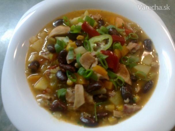 Rýchla, letná verzia pikantného mexického gulášu (fotorecept)