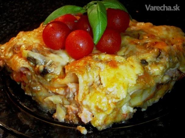 Mäsové lasagne (fotorecept)