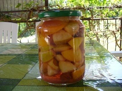 Zaváranie ovocia v soli