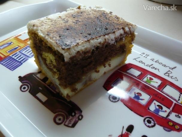 Úžasný pudingový koláč (fotorecept)