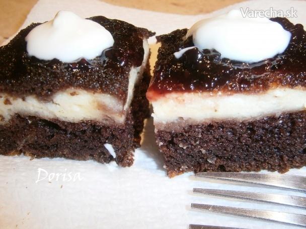 Tvarohový koláč (fotorecept)