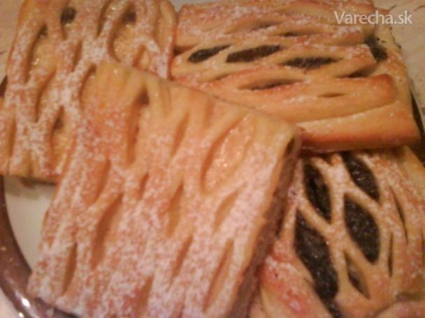 Mriežkovaný koláč (fotorecept)