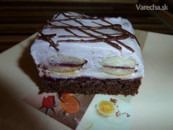 Orieškovo-smotanovo-tvarohový koláč (fotorecept)