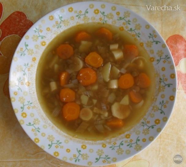 Bezmäsitá šošovicová polievka