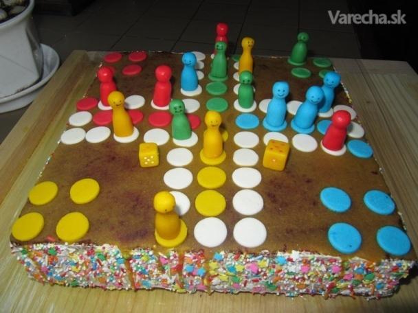 Hracia narodeninová torta (fotorecept)