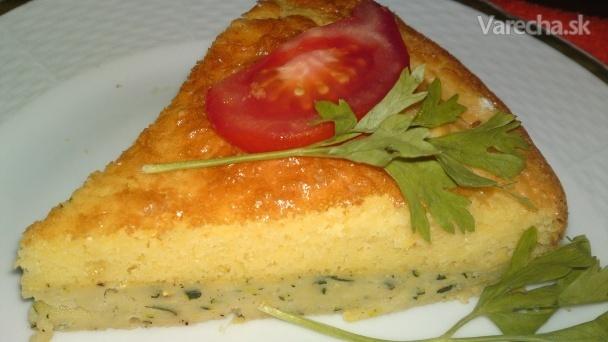 Slaná torta z cukety so syrom (fotorecept)