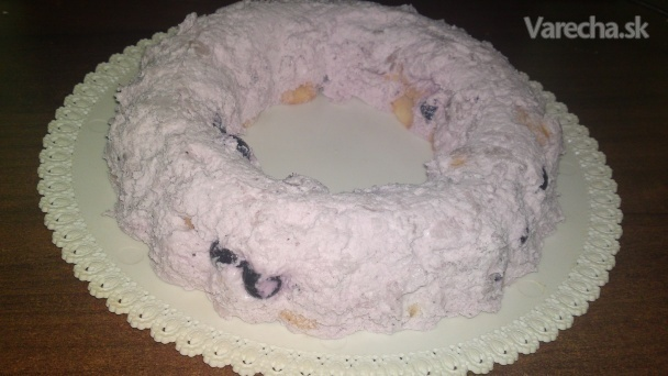 Čučoriedková torta takmer ako zmrzlina (fotorecept)