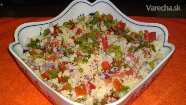 Tabouleh z Maroka s couscous (fotorecept)