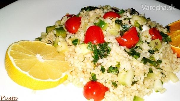 Libanonský bulgur so zeleninou (fotorecept)