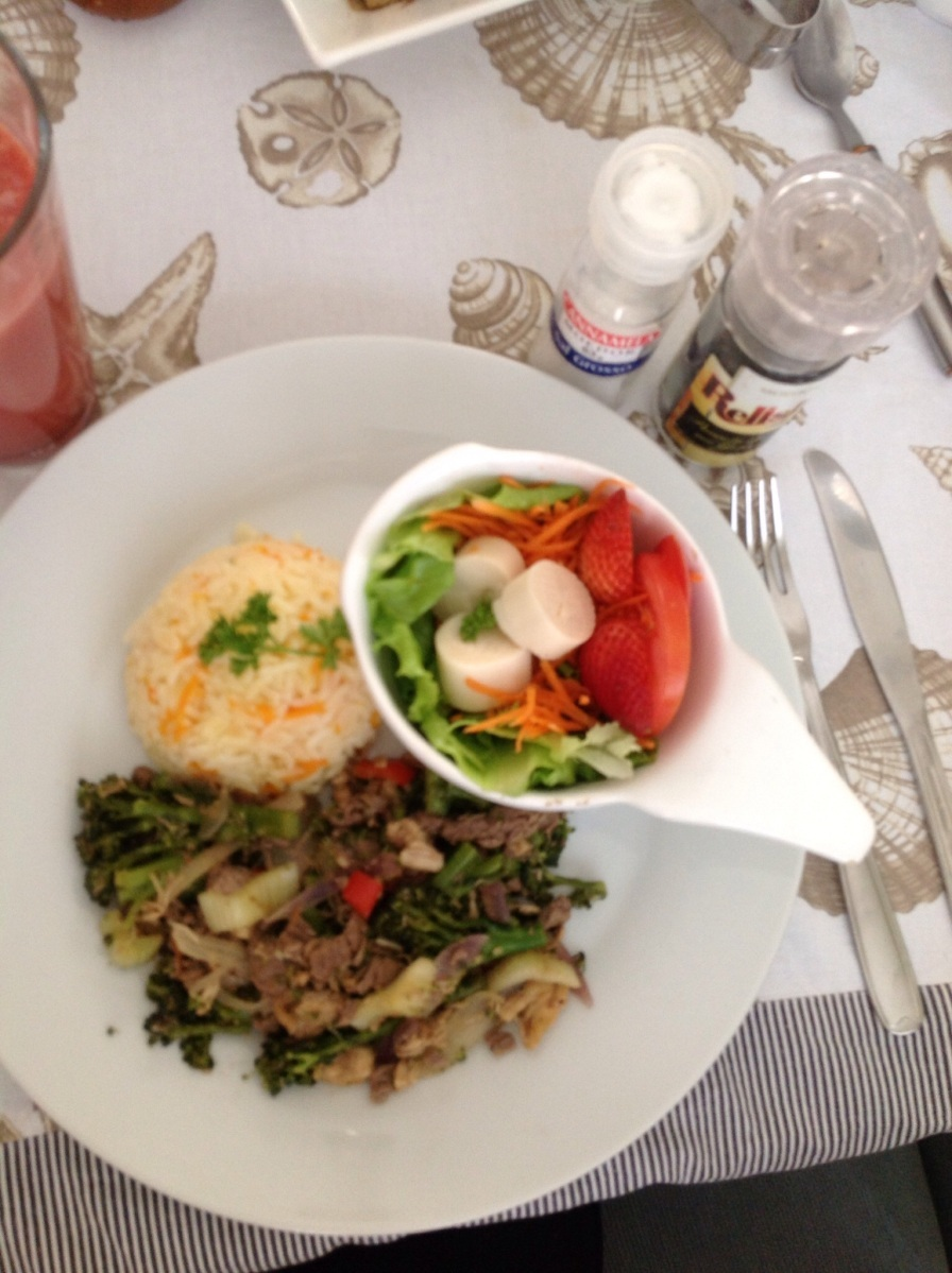 Cardápio da dieta: Refogado chinês