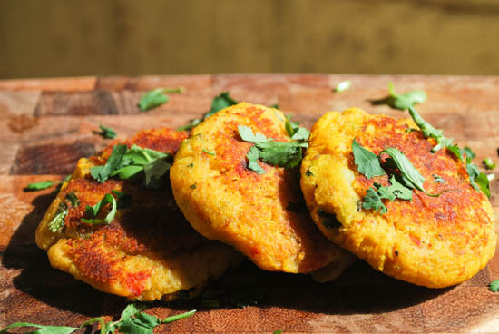 Lapingachos, Colombian Potato Patties