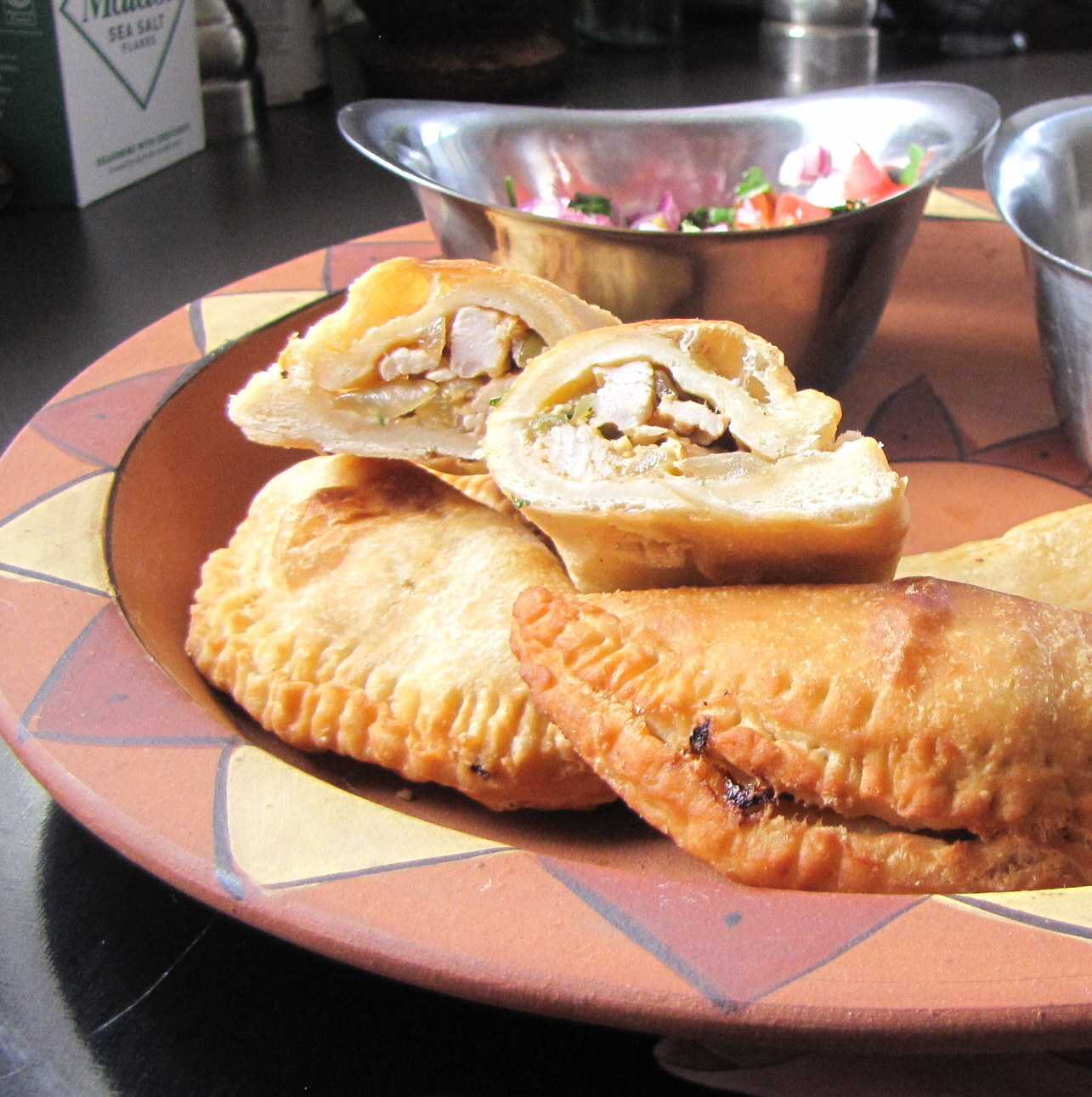 Chipotle Chicken Empanadas