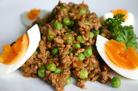 How to make the Keema (Kheema or Qeema) Matar / Minced Meat with Peas (Step by Step) ?