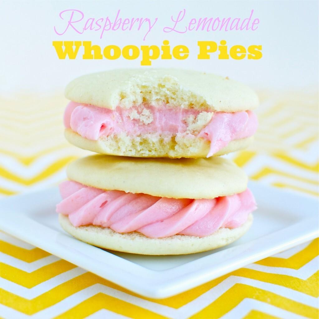 Raspberry Lemonade Whoopie Pies