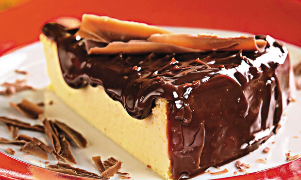 cobertura de chocolate com leite condensado e creme d leite