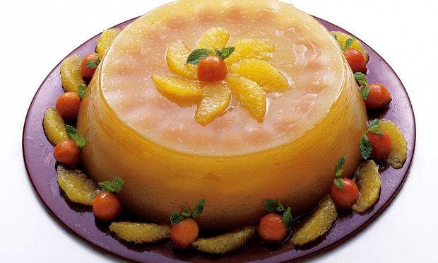 Gelatina de laranja