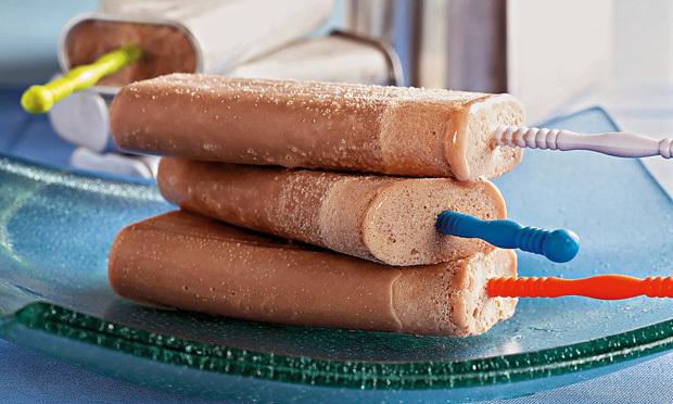como fazer sorvete de palito cremoso