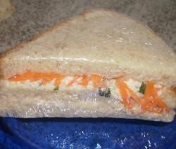 sanduiche natural de frango bata o frango no liquidificador