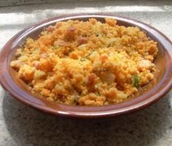 Farofa de cenoura