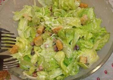 Salada Caesar da Mi
