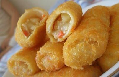 Risolis de camarão