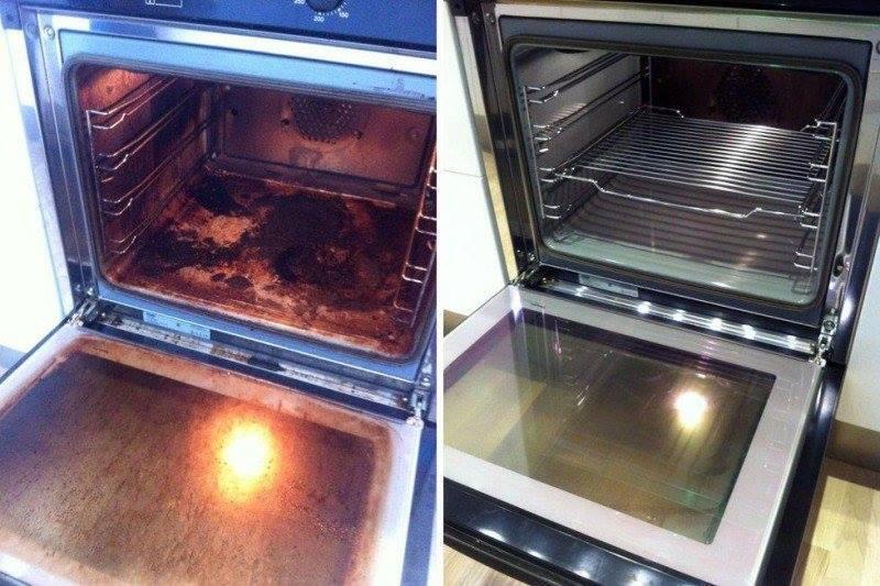 Truque FÁCIL para limpar forno e deixá-lo brilhando!