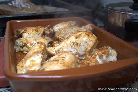 Pollo en bolsa