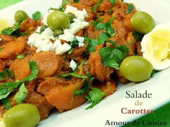 salade de carottes Houriat el matbakh