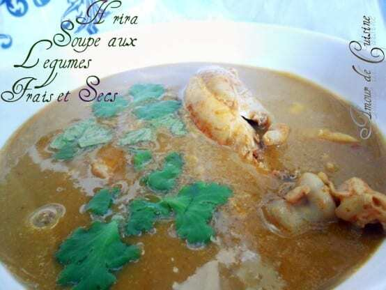 cuisine algerienne, la harira