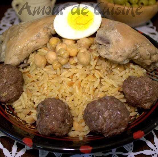 plats et recettes specials Achoura 2012