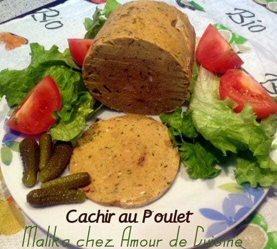cachir fait maison, saucisson ou pâté de volaille hallal