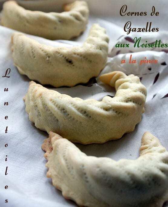gateau algerien / corne de gazelle