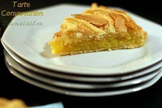 la tarte conversation: de l'émission le meilleur pâtissier de M6
