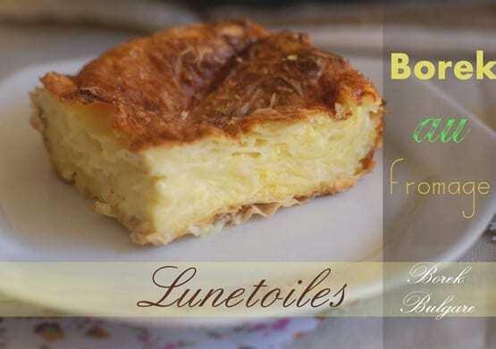 borek au fromage / borek bulgare