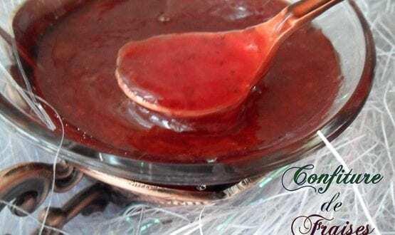 confiture de fraises « express, au micro onde »